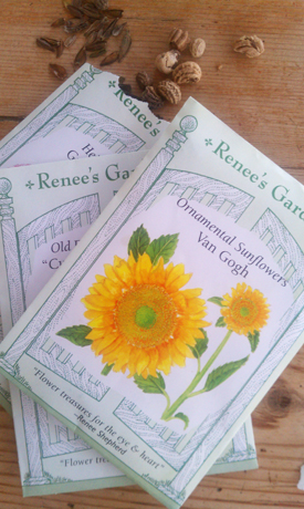 Renees seed packet